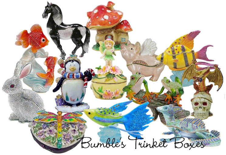 Close to 400 special order trinket boxes.